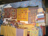 Booth at the Houston Quilt Festival {JPEG}